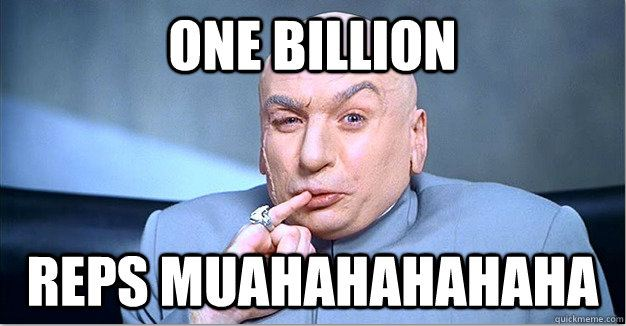 One-billion-Reps