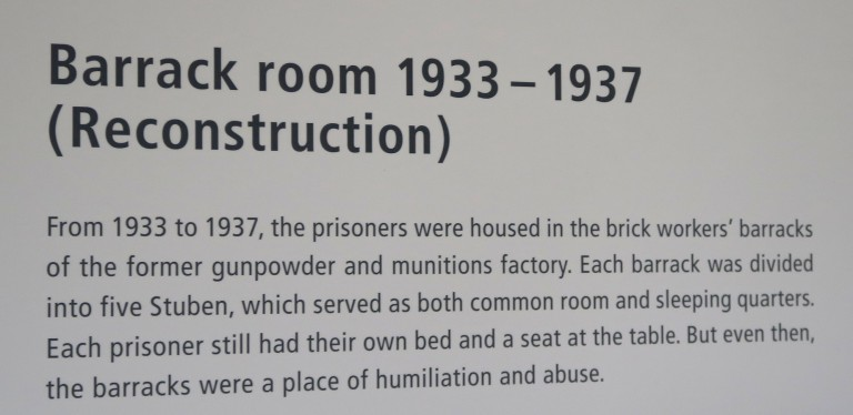 barrak room sign