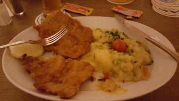 augustiner schnitzel