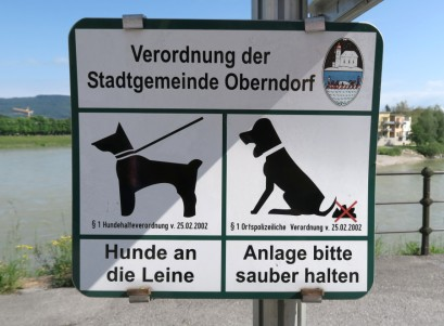 The Germans know what they like and what they don't. They don't like dog poo.