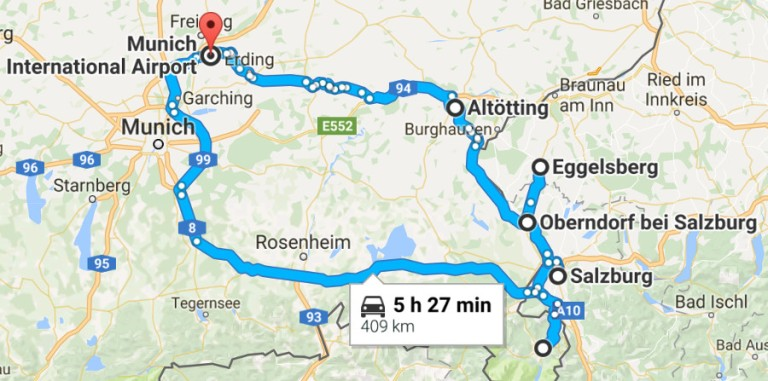 Road Map Of Germany 2017.Why You Should Take A Road Trip In Germany And Austria Faking It