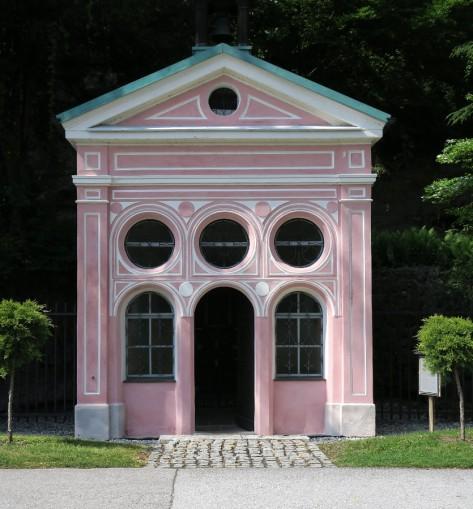 The Schifferkappelle in Oberndorf.