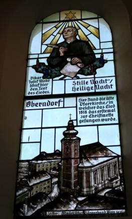 Window in the chapel.