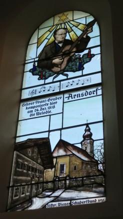 Window in the chapel