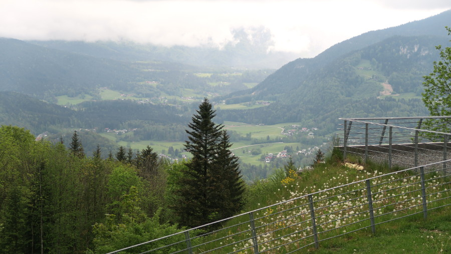 view in berchtesgaden